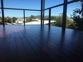 DWD Intergrain on Re Sanded Deck