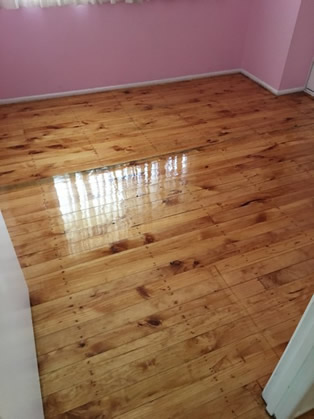 Floor Sanded and Polished ( Gloss)